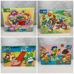 Muppet Babies 4 Jigsaw Puzzles Jim Henson 60 Piece